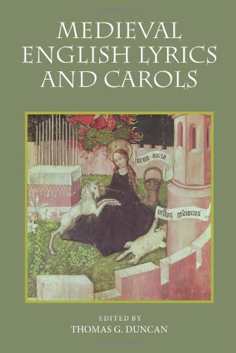 Medieval English Lyrics and Carols (Antike Duncan)