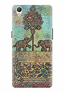 Noise Designer Printed Case / Cover for OPPO A37 / Nature / Elephant Design