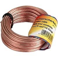 Hama 030721 - Cable de audio OFC, 0,75 mm, 10 m