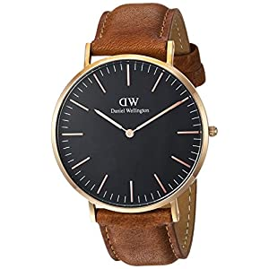 Daniel Wellington Classic Durham – Reloj de Cuero para Hombre (40