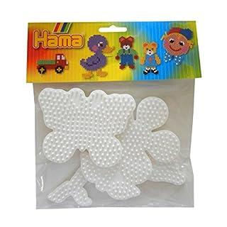 Hama - 453 - Set de Plaques - Fleur, Dauphin, Papillon