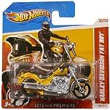 Hotwheels Diecast Car Hot Wheels Harley Davidson Fat Boy #30 (2012 HW Premier)