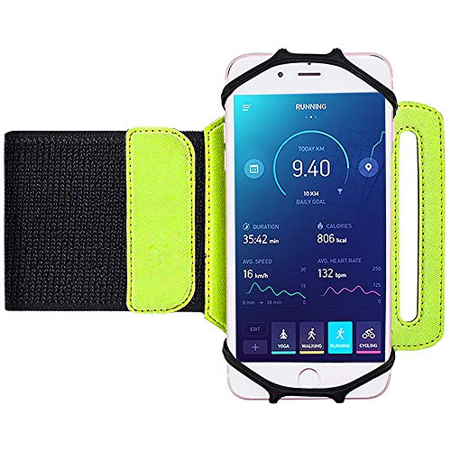 Bovon Universal Sportarmband für iPhone Xr/Xs/X/8/7Plus,Samsung S9/S8 Plus/S7 Edge (Samsung Galaxy Handy-apps)