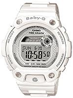 Reloj de mujer CASIO BLX1007ER de cuarzo, correa de resina color blanco de Casio