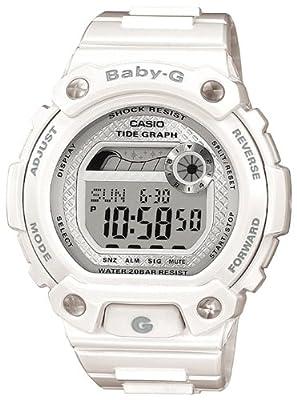 CASIO BLX1007ER - Reloj de mujer de cuarzo, correa de resina color blanco