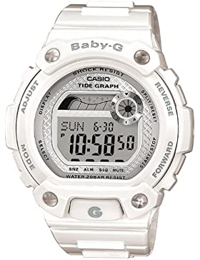 Casio Baby-G – Damen-Armbanduhr mit Digital-Display und Resin-Armband – BLX-100-7ER