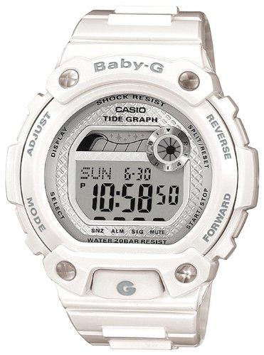 Casio Damen Uhren Baby-g (Casio Baby G Damen-Armbanduhr BLX 100 7ER)