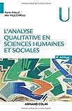 L'analyse qualitative en sciences humaines et sociales - 4e éd.