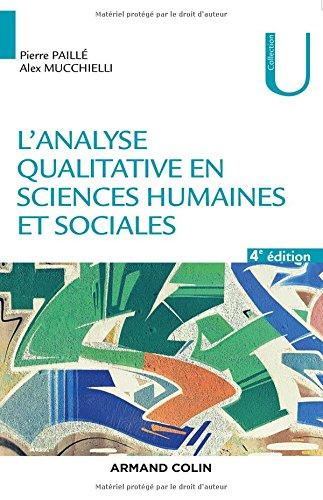L'analyse qualitative en sciences humaines et sociales - 4e d.