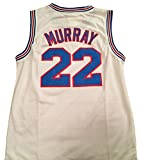 Bill Murray Space Jam Jersey - #22 Tune Squad - White (Large) by Space Jam