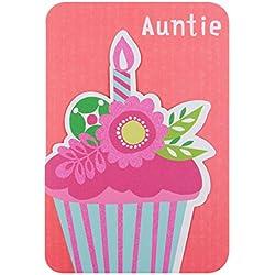 """Hallmark Geburtstagskarte für Tante""""Gönnen Sie Sich""""–mittelgroß"""