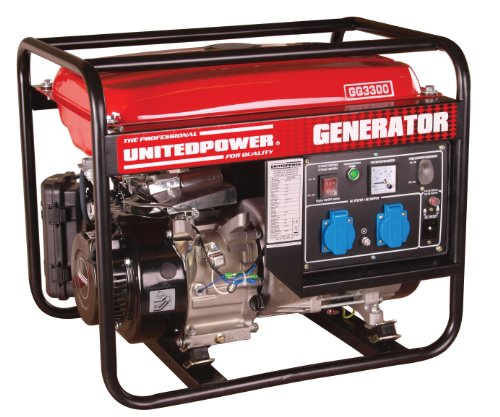 Hecht - Generador de corriente united power gg3300