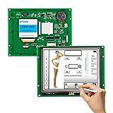 Stein TFT LCD 14,2cm Hohe Auflösung Farbe TFT LCD Display Marke Monitor mit UART Kontrolle und kostenloser Software