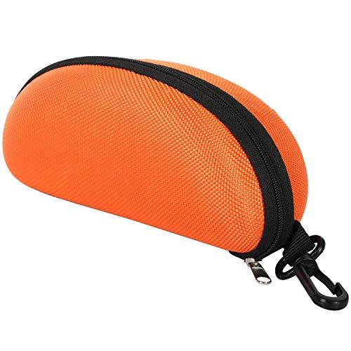 REFURBISHHOUSE Formschützende Sonnenbrille Und Lesebrillen Box Orange Rei?verschluss