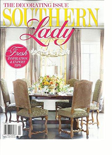 Generic Southern Lady Magazin, die Dekorieren Ausgabe Januar/Februar, 2017, Vol. 18 -