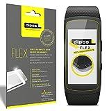 Samsung Gear Fit 2 Protection écran, recouvre 100% de l'écran, 3 films de protection dipos Flex
