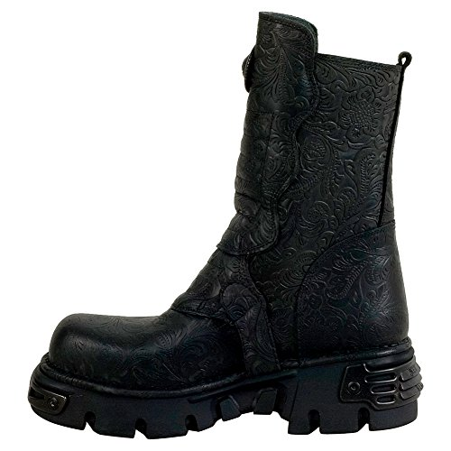 Black M Unisex s25 Biker Noir Boots 373x Erwachsene Rock New qtz6w1Rx