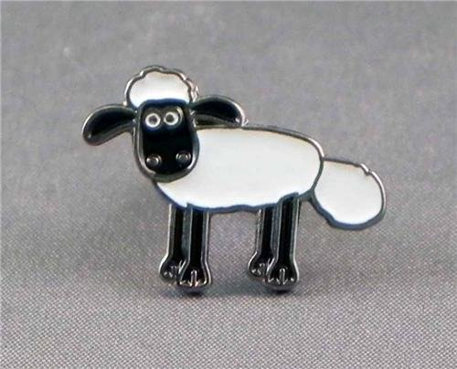 Metal Enamel Pin Badge Brooch Shaun the Sheep(TV cartoon)