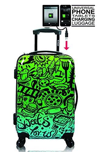 248202741470a5 Tokyoto Ryanair / Easyjet Hand Luggage / Cabin Suitcase Trolley, Comic Blue  Design (blue) - F6-5MH9-E4WF