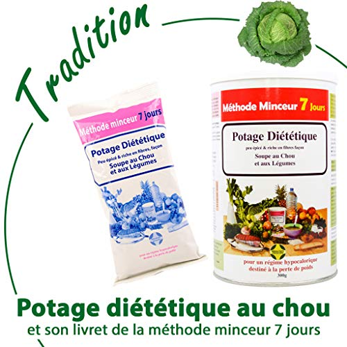 Kohlsuppe zur Fettverbrennung Kohl, 1 Stück, Abnehmmmethode 7-Tage, Diät-Suppe