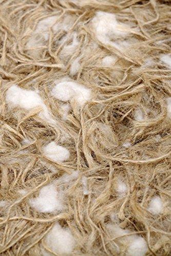 Pet Ting Jute und Baumwolle Nesting Material 1kg-Für Finken/Kanarienvögel Wellensittiche etc. Nager Hamster -