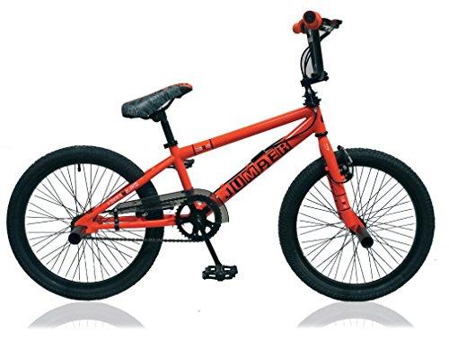 Unbekannt 20 Zoll BMX Kinder Jugend Jungen Fahrrad Rad KINDERFAHRRAD 360° Rotor Freestyle Bike Jumper ORANGE - Bike Bmx Zoll 20