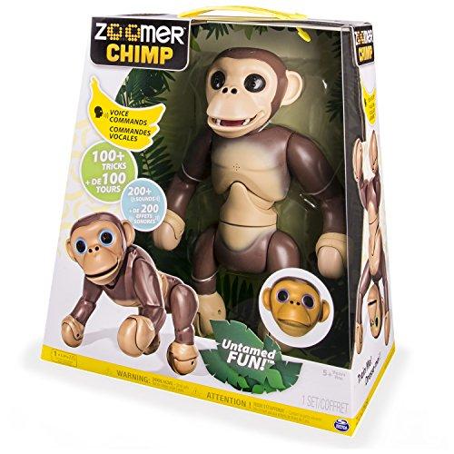 Zoomer diseño de mono de peluche (versión en inglés y francés)
