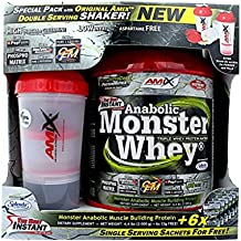 Amix Anabolic Monster Whey 2kg + Shaker Chocolate
