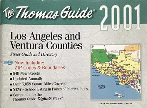 Los Angeles/Venture Counties (Thomas Guide Los Angeles/Ventura Counties Street Guide & Directory)