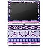 Samsung Galaxy Tab 2 10.1 Autocollant Protection Film Design Sticker Skin Renne Motif Norvège Noël