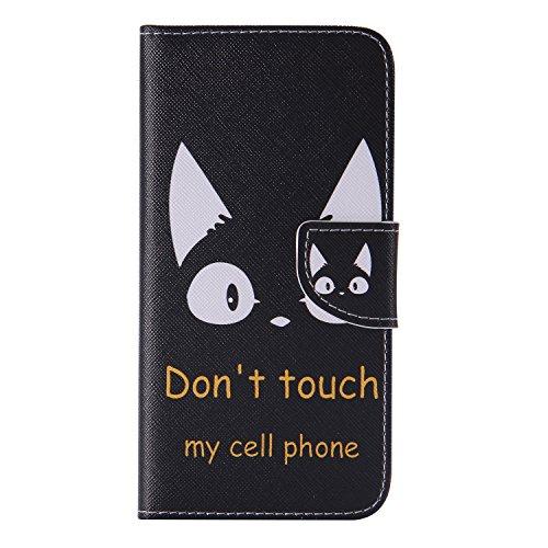 Preisvergleich Produktbild Nancen Samsung Galaxy S7 Edge / SM-G9350 (5,5 Zoll) Handy Lederhülle, Flip Case Wallet Cover with Stand Function, Folio Bookstyle Handytasche Soft Silikon Bunte Muster Tasche PU Leder Slim Shell Handyhülle.