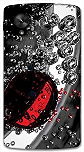 Timpax protective Armor Hard Bumper Back Case Cover. Multicolor printed on 3 Dimensional case with latest & finest graphic design art. Compatible with only Google Nexus-5. Design No :TDZ-20564