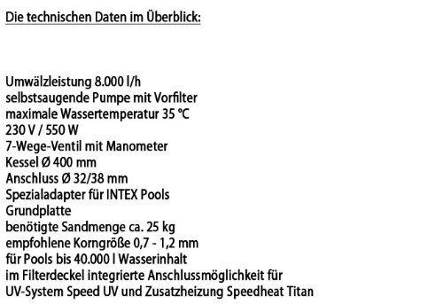 Intex Sandfilteranlage Speed Clean Comfort 75, miganeo grau - 6