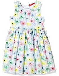 Salt & Pepper Dress bunt Blumen Schleife - Robe - Fille