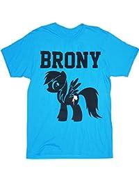 My Little Pony Brony Turquoise blau Herren T-Shirt