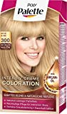 Poly Palette Intensiv Creme Coloration, 300 naturblond stufe 3, 3er Pack (3 x 1 Stück)