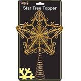 30cm Schöne Goldglittery Tree Top Star - Weihnachtsbaum-Deckel ( DP118 )