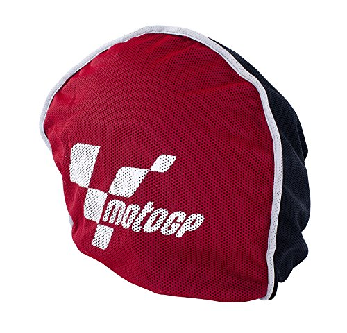 Price comparison product image MotoGP - AERO HELMET BAG in Red & Black - Fleece Lined - Motorbike Scooter