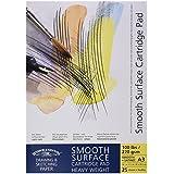 Winsor & Newton Blocs de feuilles de papier à dessin Surface douce A3