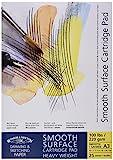 Winsor&Newton - Blocco Carta Satinata, Grana Liscia Incollato - 220 Gr - A3-25 Fogli