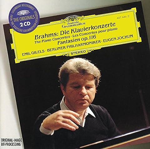 Brahms: The Piano Concertos; Fantasias Op.116 (2 CDs)
