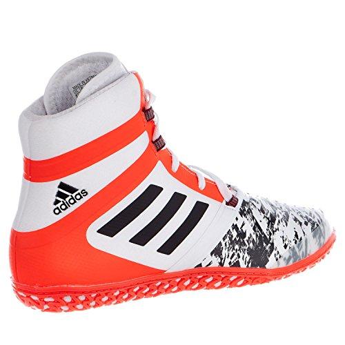 Adidas Impact Wrestling scarpe White/Back/Solar Red