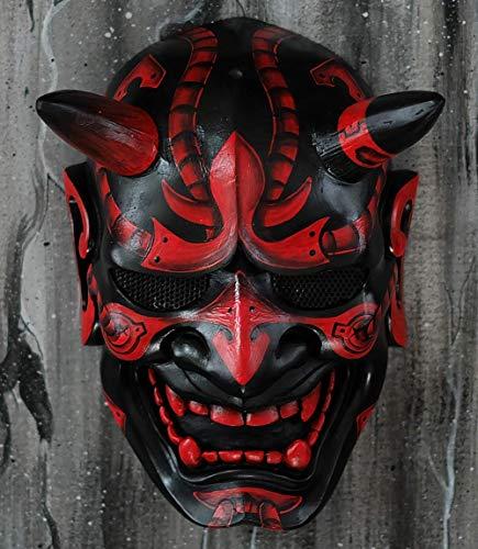 Tripple_777 Hannya Kabuki Demon Oni Airsoft Maske BB Gun Halloween Kostüm Evil Cosplay MA244