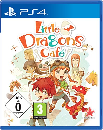 Little Dragons Cafe [PlayStation 4] (Playstation 4-strategie-guides)
