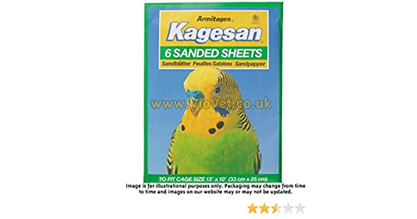 55x31cm Kagesan Sand Sheets x6 No 7