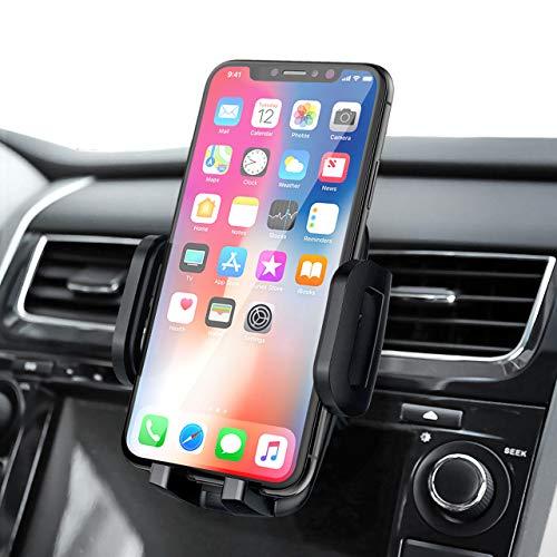 Mpow Supporto Smartphone per Bocchetta Dell'aria Auto con Morsetto Regolabile a 3 livelli, Rotazione di 360 Gradi, Robusto Porta Cellulare da Auto Compatibile con iPhone, Galaxy, Huawei, Xiaomi,