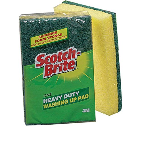 scotch-brite-1821-3m-washing-up-scouring-sponge-pack-of-10