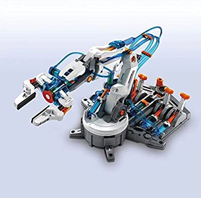 Hydraulic Robot Arm Build Your Own Remote Controlled Educational Toy Kit from Science Discovery