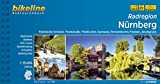 Nürnberg, Radatlas: 1:75000. Fränkische Schweiz, Frankenalb, Fränkisches Seenland, Romantisches Franken, Aischgrund, wetterfest/reißfest - Esterbauer