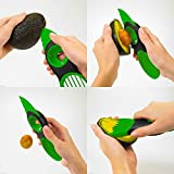 Bluelover 3 in 1 Avocado Slicer Pelapatate Skinner